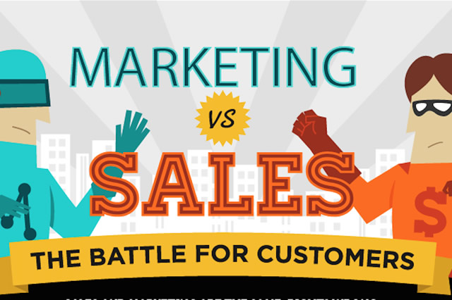 So What Exactly is the Difference Between Sales and Marketing?